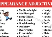 Adjectives to Describe People