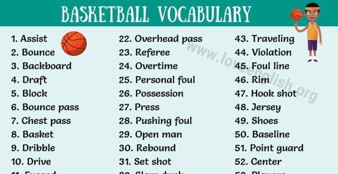 Basketball Terms