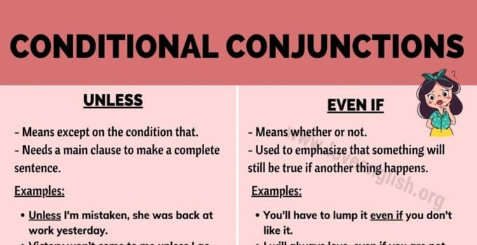 Conditional Conjunctions
