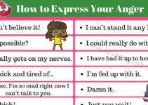 How to Express Anger