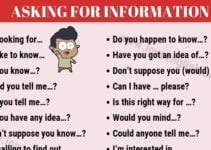 Expressions for Asking for Information