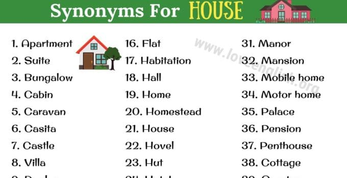 House Synonyms