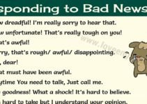 How to Respond to Bad News