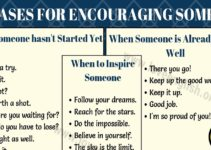How to Encourage Someone