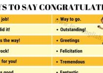 Congratulations Synonyms