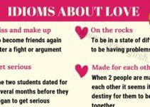Love Idioms