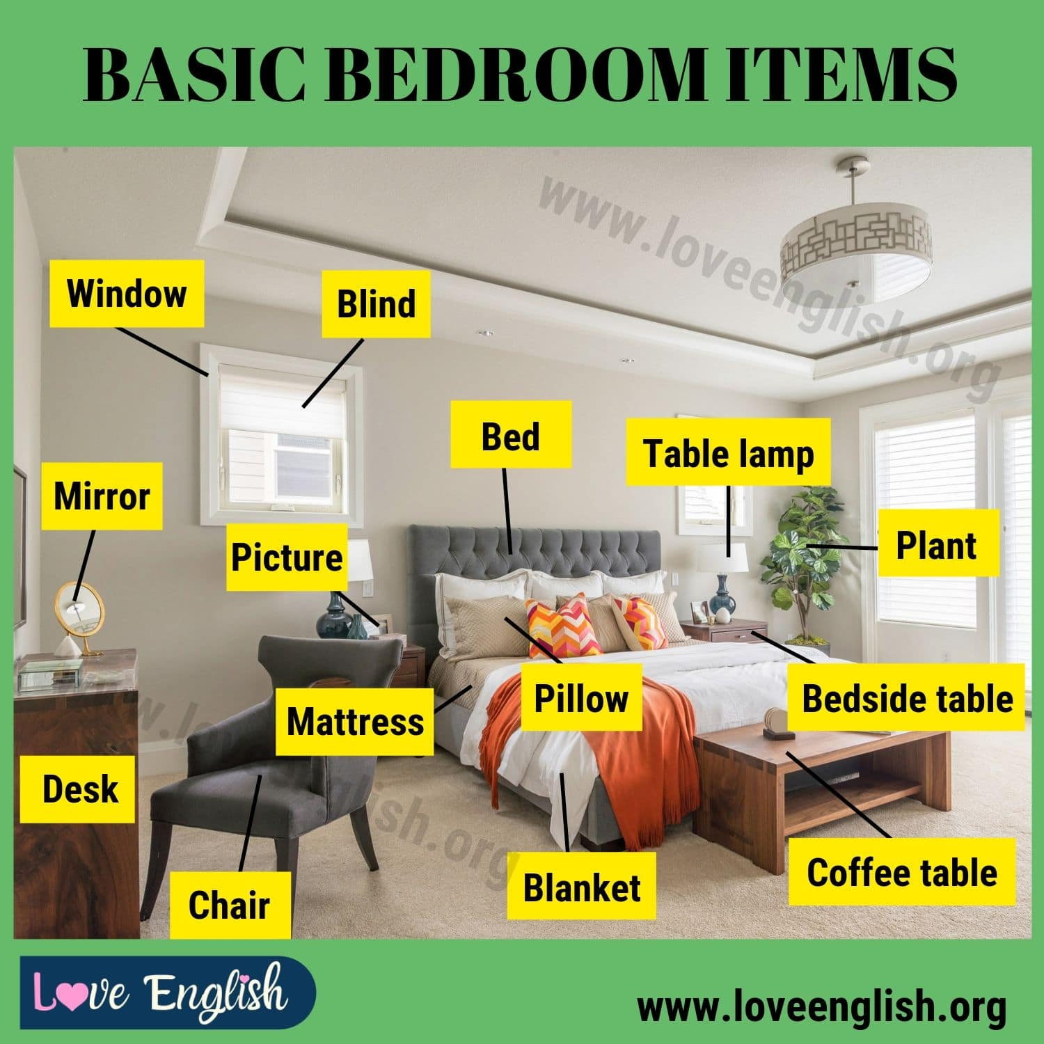 Bedroom Furniture: 6+ Basic Items You Need for Your Bedroom