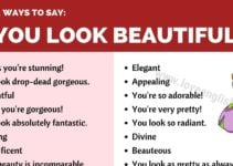 Ways to Say You Look Beautiful