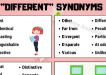 Different Synonyms