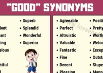 Good Synonyms