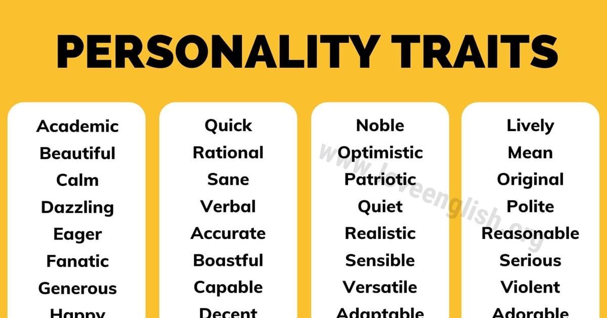 Personality Traits