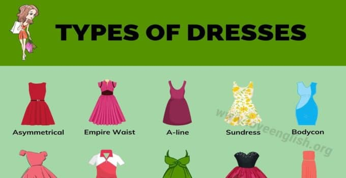 Types of Dresses: 52 Different Dress Styles for Every Women 1