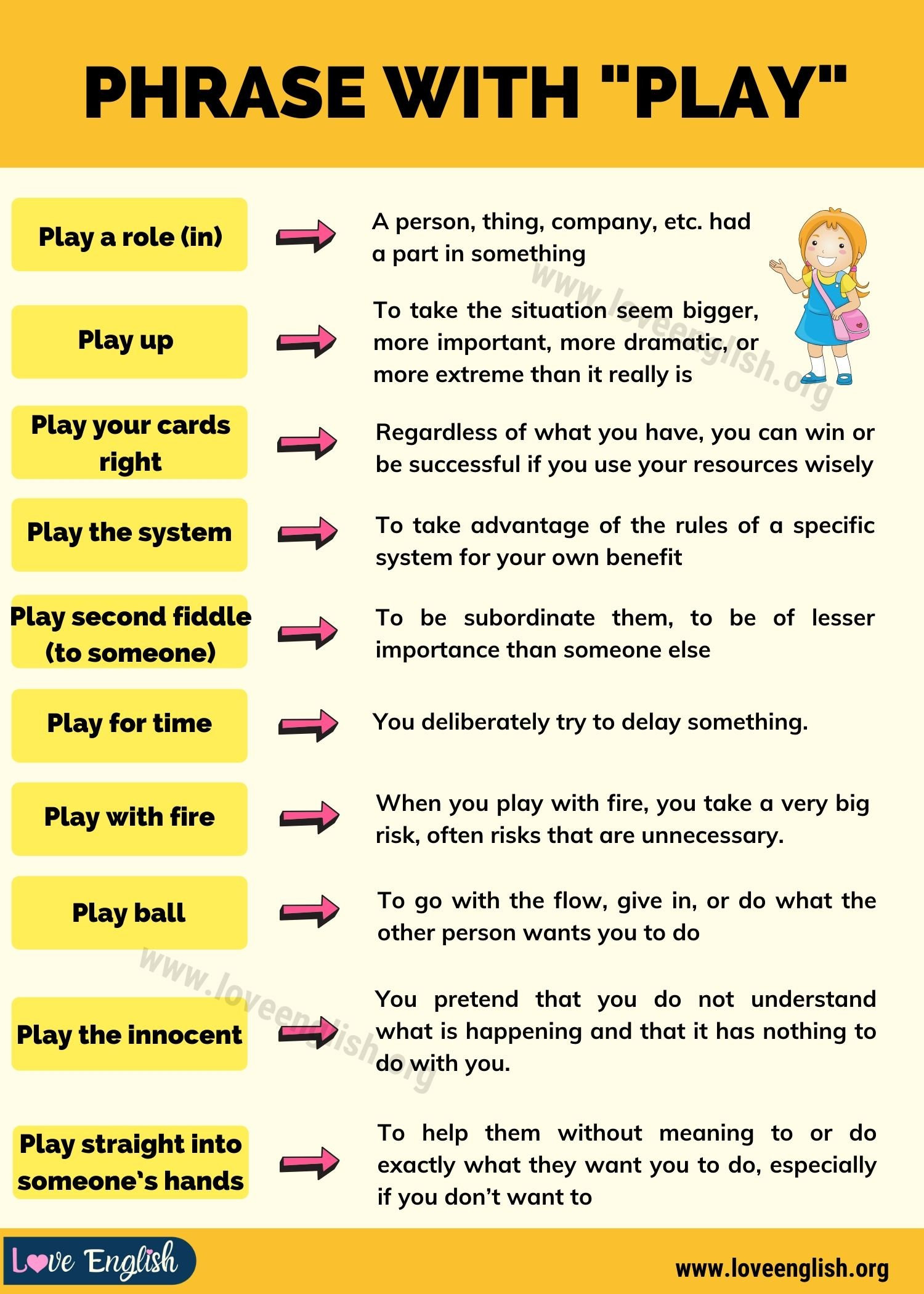 Phrase with Play