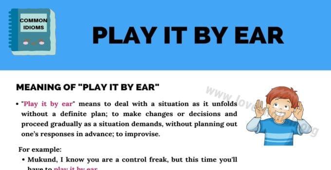 Play It by Ear