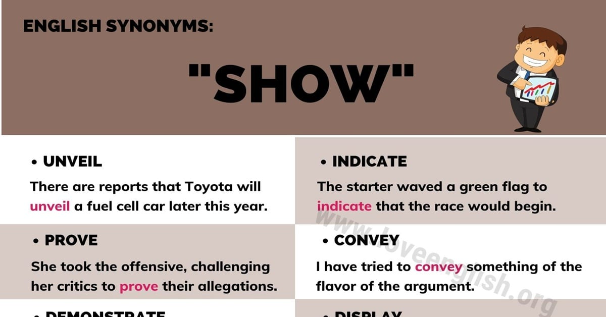 Show Synonyms