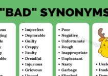 Bad Synonyms